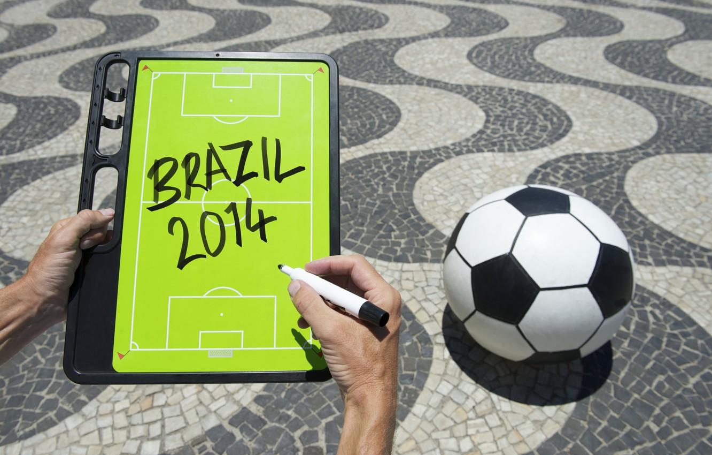 Фото обои football, ball, World Cup, Brasil, FIFA, 2014