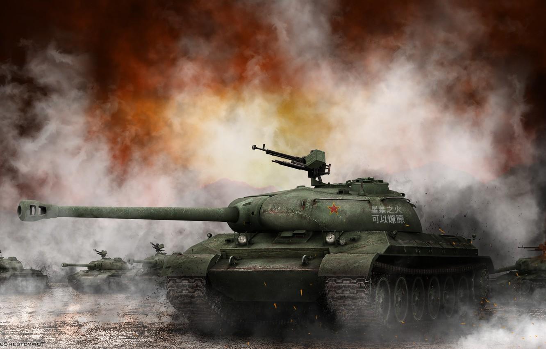 Обои дым, World of tanks. Игры foto 7