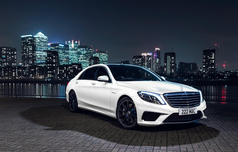 Фото обои Mercedes-Benz, AMG, S 63, UK-spec, 2013, W222