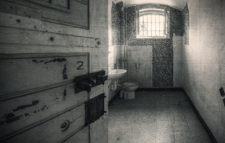 Фото обои интерьер, камера, тюрьма