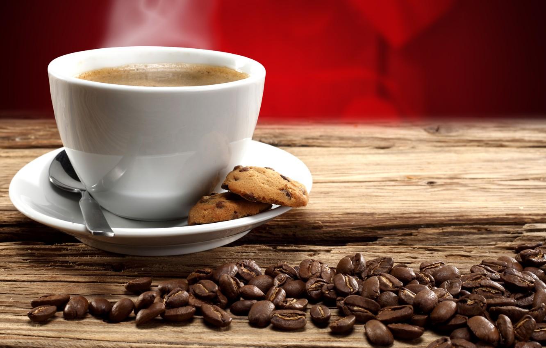 Фото обои любовь, кофе, чашки, valentine's day