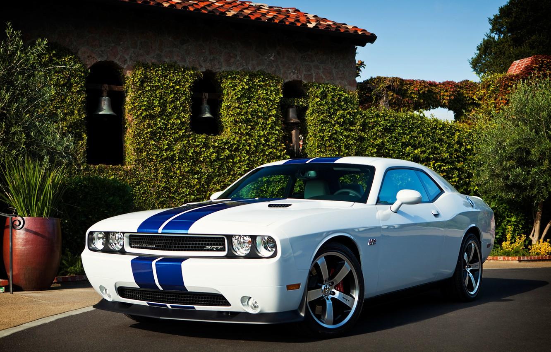 Фото обои Dodge, SRT8, Challenger, додж, 2011, челленджер