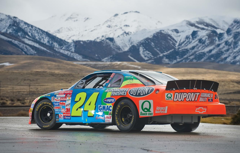 Фото обои car, машина, авто, горы, спорт, гонки, chevrolet, nascar