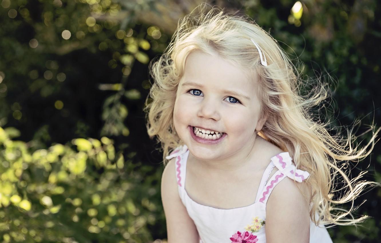 Обои улыбка, портрет, Девочка. Разное foto 7