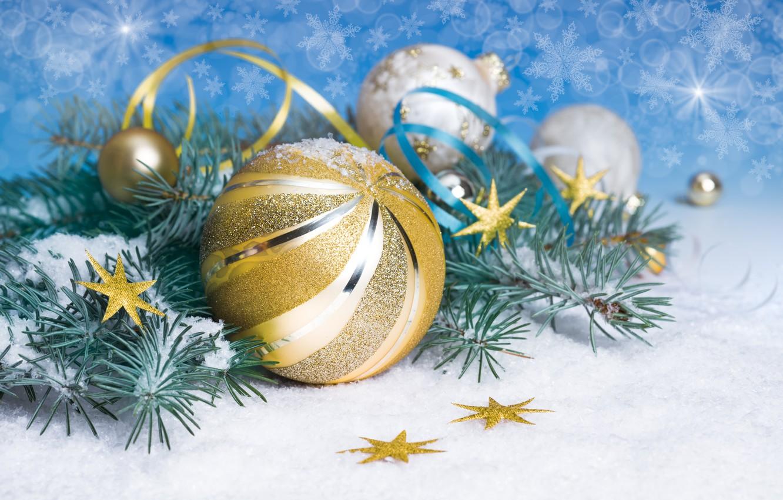 Фото обои шарики, украшения, праздник, Новый Год, Рождество, Christmas, New Year, 2015