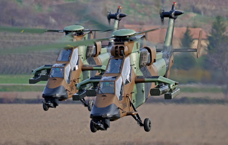 Обои ec 665, ударный, Tiger, Eurocopter. Авиация foto 9
