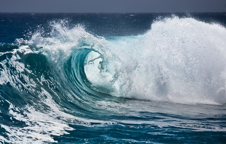 Фото обои волны, пена, вода, брызги, океан