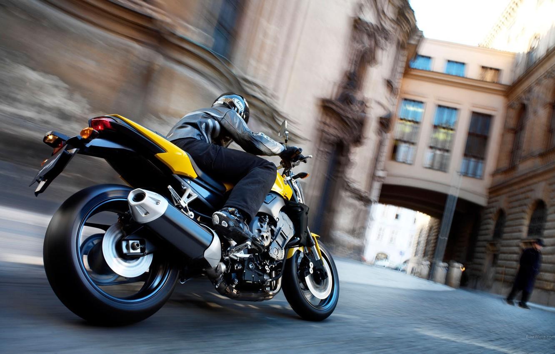 Фото обои мото, yamaha, moto