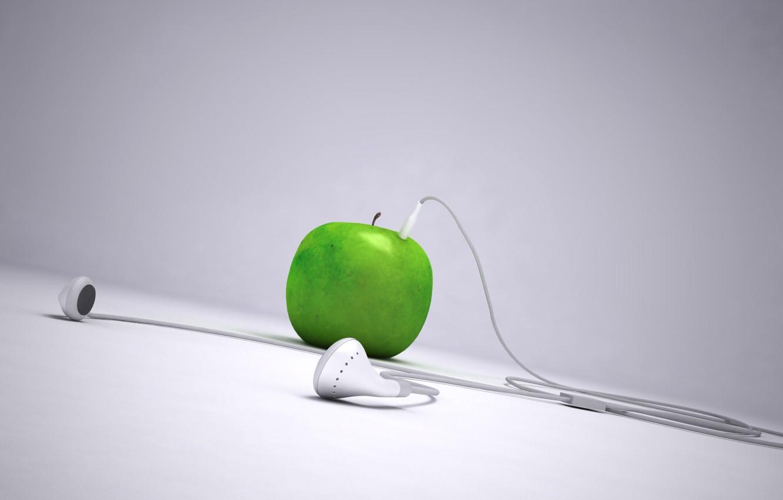 Фото обои apple