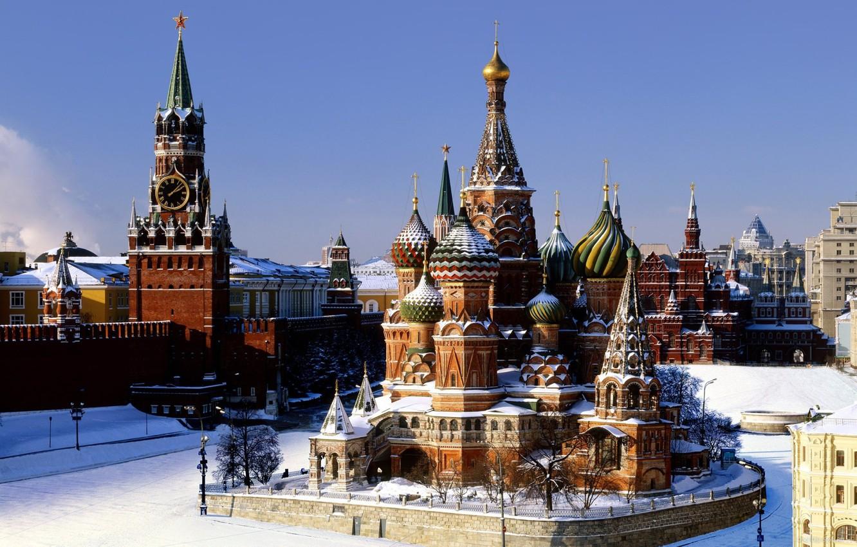 Обои россия, красная площадь. Города foto 12