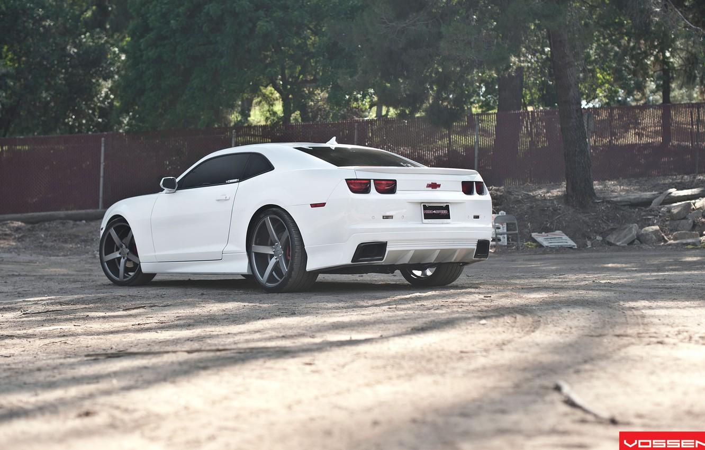 Фото обои Chevrolet, Camaro, Vossen