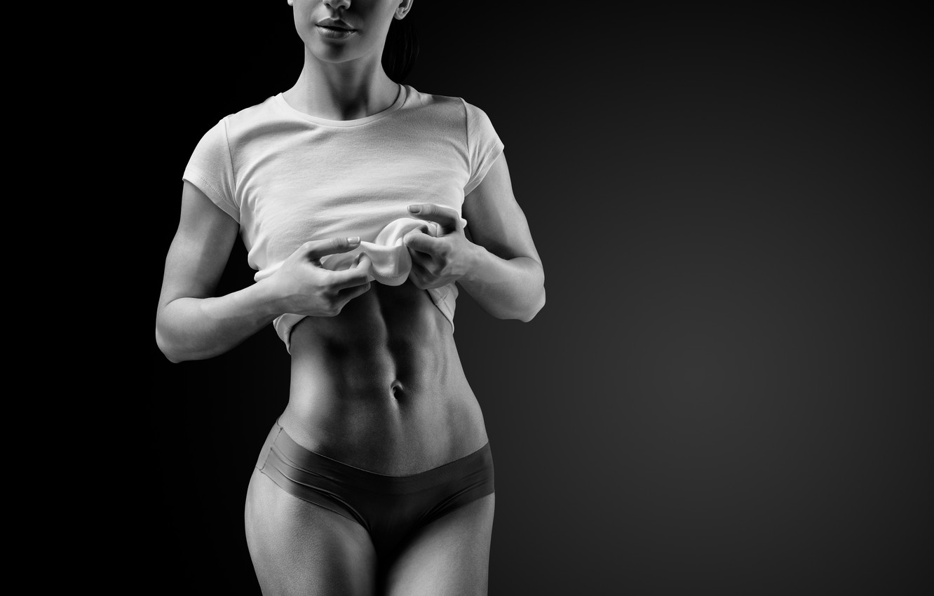 Фото обои exercise, fitness, abs, diet, healthy food