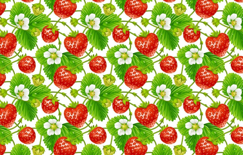 обои с ягодами для стен так понравился