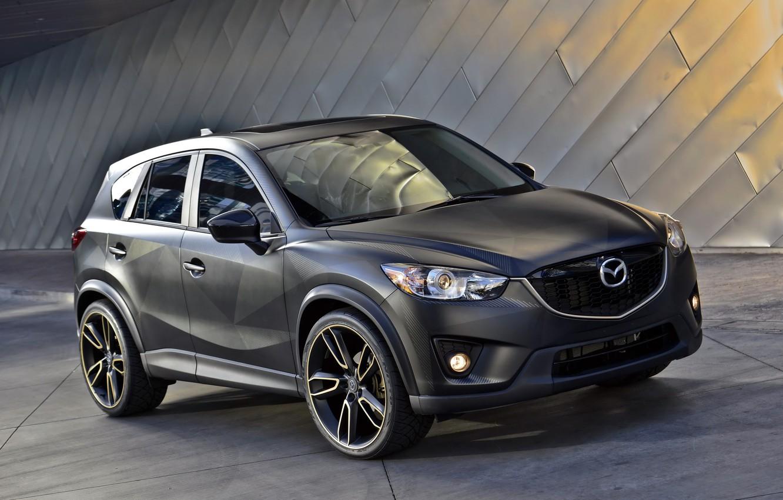 Фото обои Mazda, мазда, кроссовер, CX-5