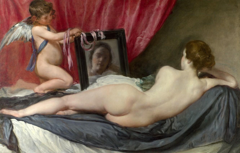 Обои интерьер, картина, Диего Веласкес, Вилла Медичи в Риме. Павильон Ариадны. Разное foto 7