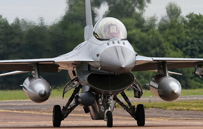 Обои fighting falcon, истребитель, F-16c, кабина. Авиация foto 10
