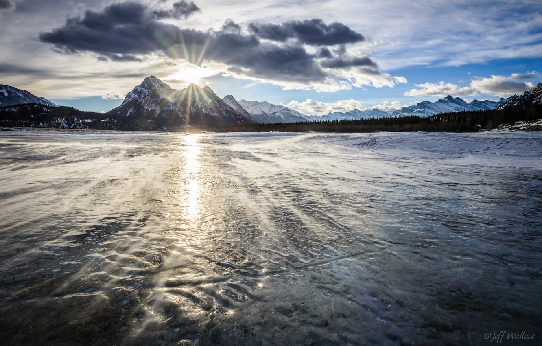 Обои тень, горы, Пейзаж, синева, небо, взлётная полоса, Самолёт, Облака, солнце. Авиация foto 7
