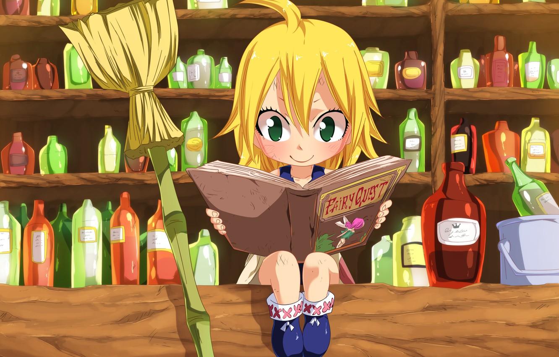 Фото обои kawaii, game, green eyes, anime, fairy, beautiful, crown, pretty, face, blonde, asian, shop, cute, manga, …