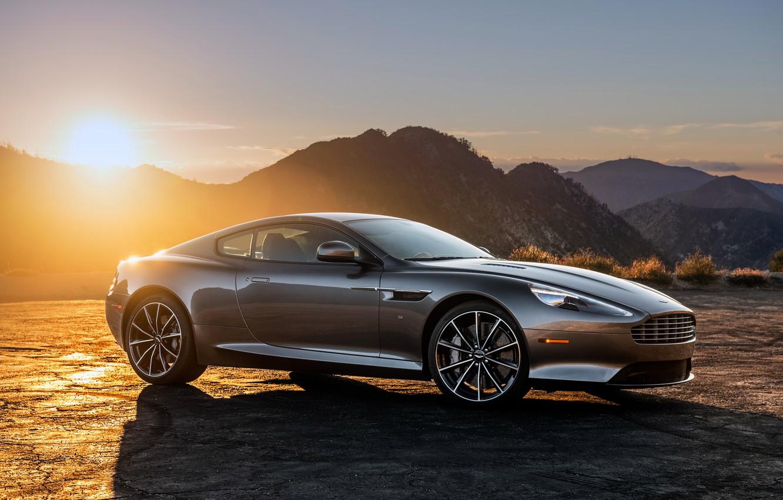 Фото обои Aston Martin, астон мартин, суперкар, DB9