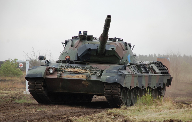 Фото обои Германия, танк, бронетехника, Leopard 1