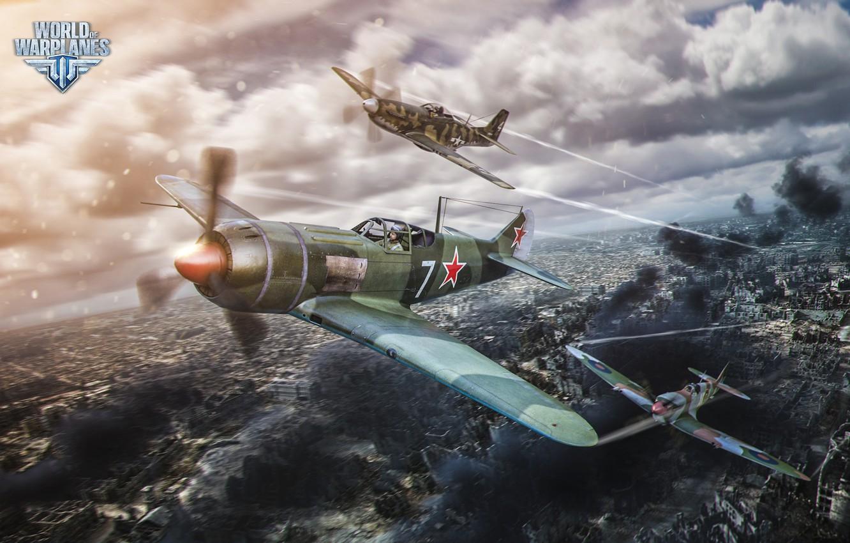 Обои wargaming.net, wowp, истребитель, рендер, Самолёт, World of warplanes. Игры foto 8