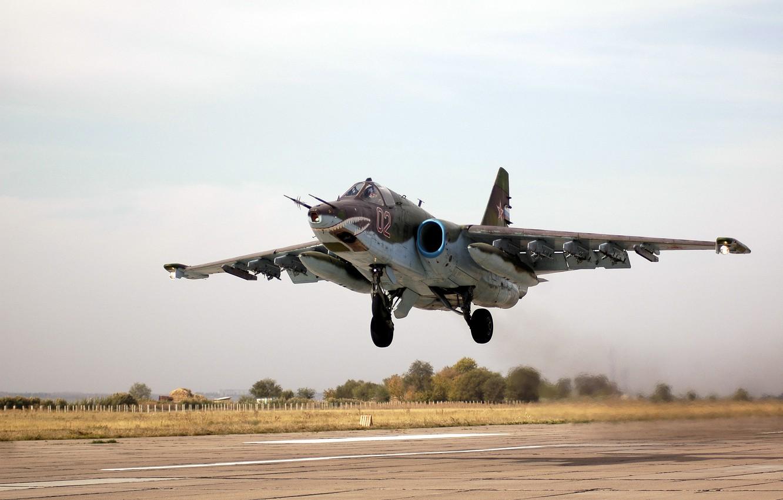 Обои ввс россии, su-25, штурмовик, Frogfoot. Авиация foto 13