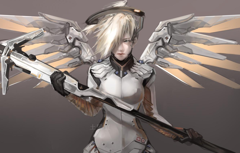 ангел из овервотч картинки рисунку, принципе