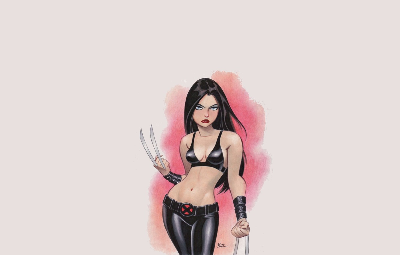 Фото обои girl, marvel, x-men, Comics, X-23, Laura Kinney