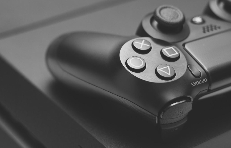 Обои dualshock, ps4, console, Gamepad. HI-Tech foto 16
