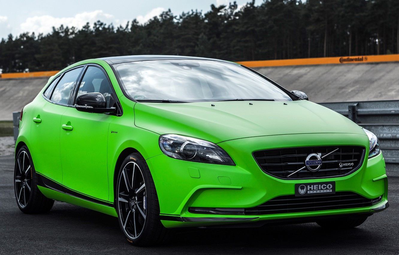 Фото обои Volvo, V40, Heico, Sportiv, HPC