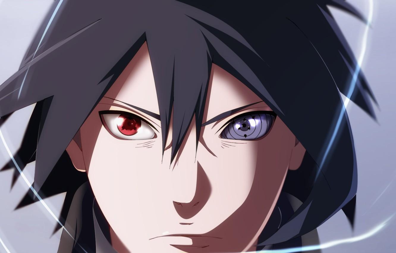 Фото обои naruto, sharingan, sasuke uchiha, x7rust, rinengan, boruto naruto the movie