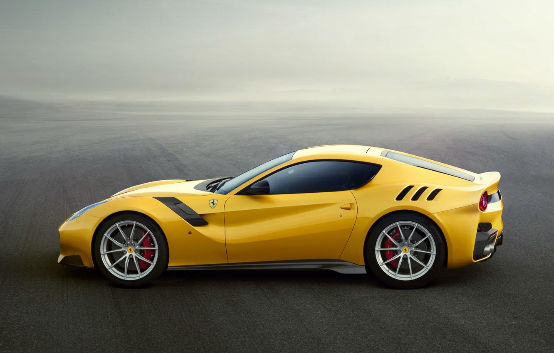 Фото обои Ferrari, суперкар, феррари, F12