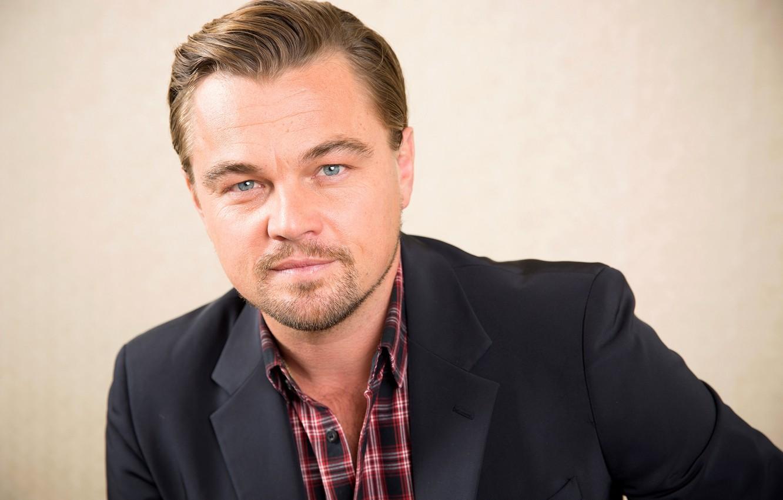 Фото обои лицо, актер, мужчина, рубашка, пиджак, Леонардо Ди Каприо, Leonardo DiCaprio