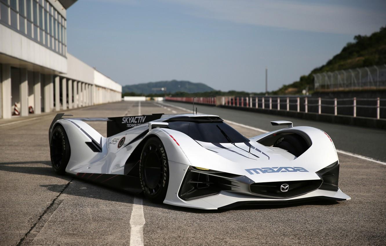 Фото обои Mazda, Vision, мазда, Gran Turismo, 2014, LM55