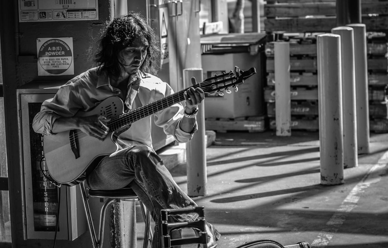 Обои Гитара, Человек, музыка. Музыка foto 10