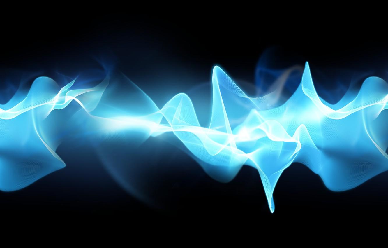 Фото обои wallpaper, sony, blue, flow, cosmic, xperia