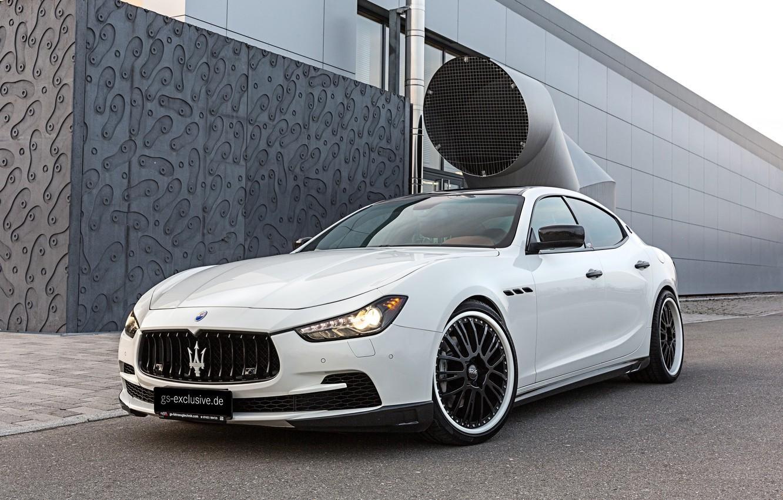 Фото обои Maserati, мазерати, Ghibli, гибли, 2015, G&S Exclusive