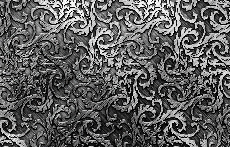 Фото обои металл, узор, silver, metal, texture, background, pattern, steel, metallic