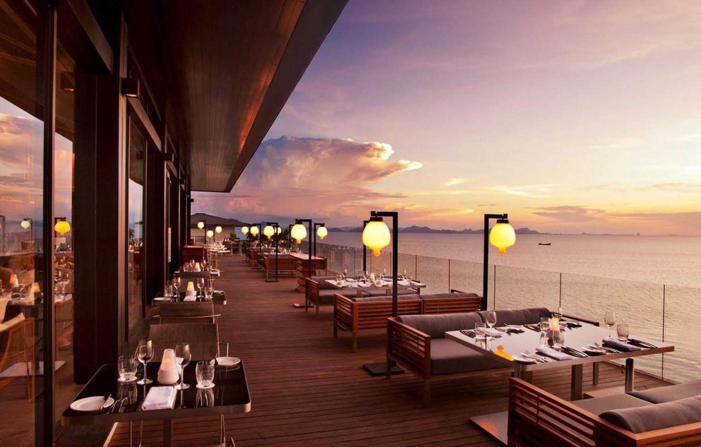 ресторан на берегу моря фото если произведенные