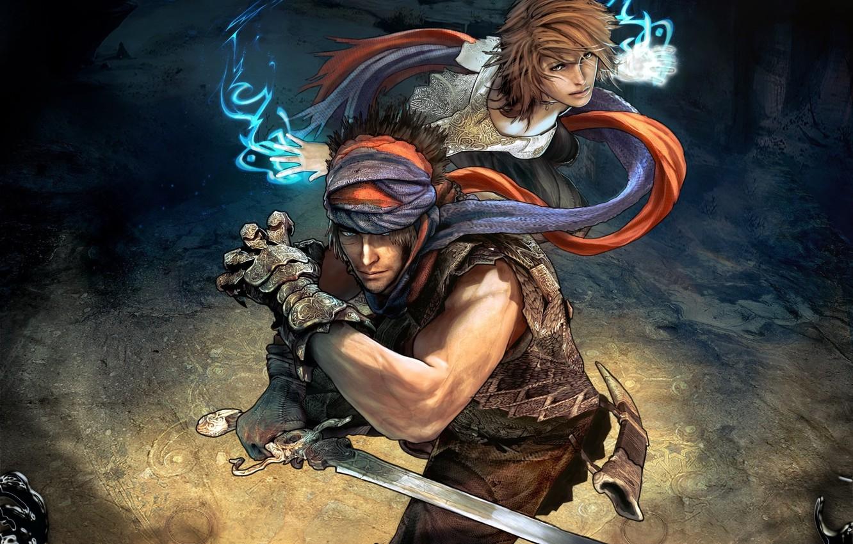 Фото обои девушка, меч, Prince of Persia, Принц Персии, Epilogue