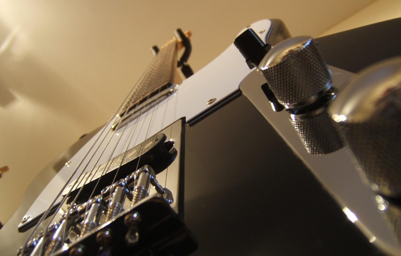 Фото обои стиль, гитара, струны, электро