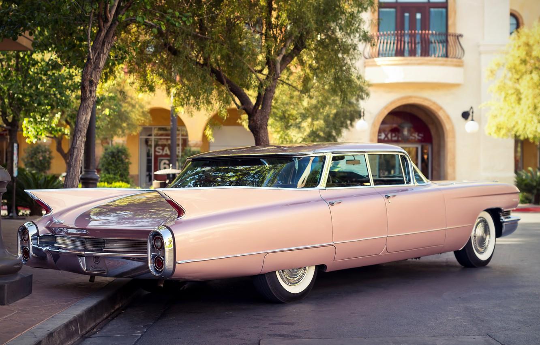 Фото обои ретро, Cadillac, 1960, классика