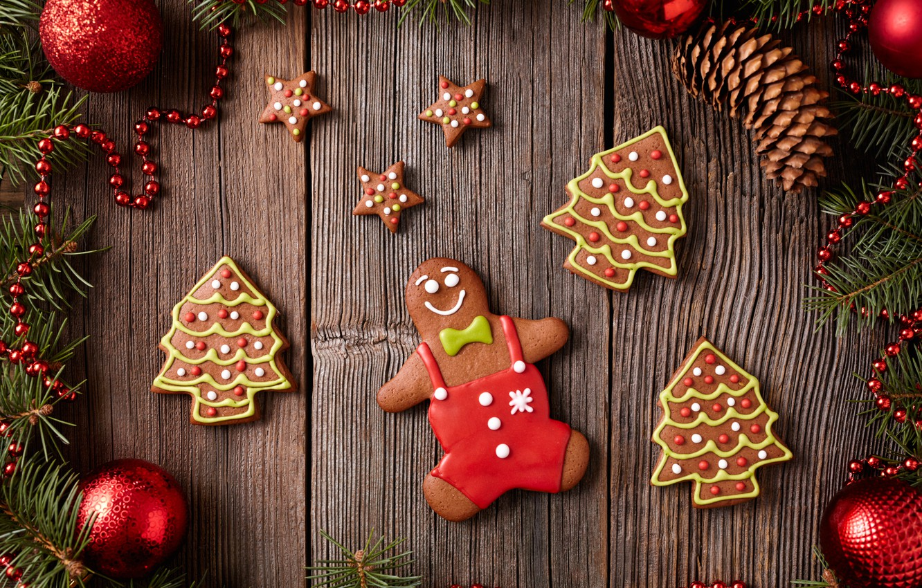 Обои christmas, cookies, decoration, рождество, xmas, Merry. Новый год foto 13