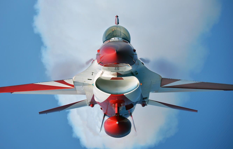 Обои fighting falcon, истребитель, F-16c, кабина. Авиация foto 9