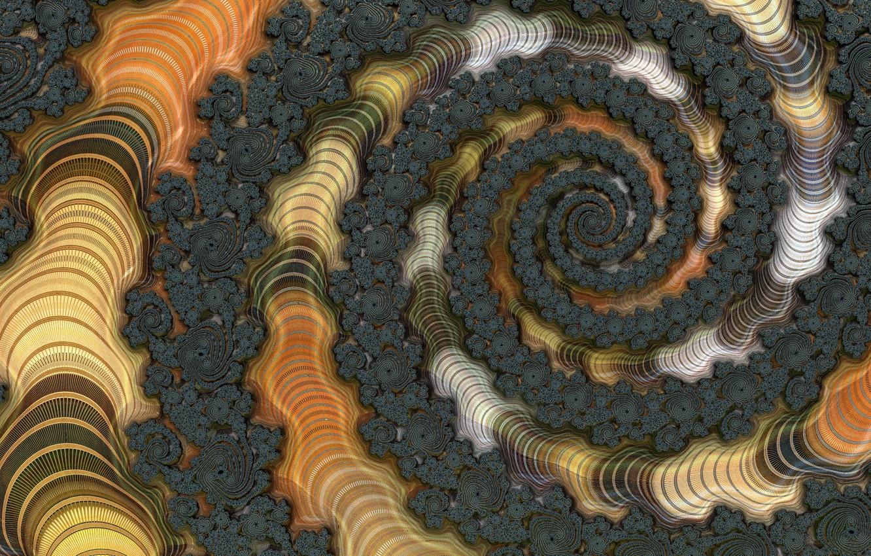 Обои форма, Цвет, абстракция, Fractal. Абстракции foto 13