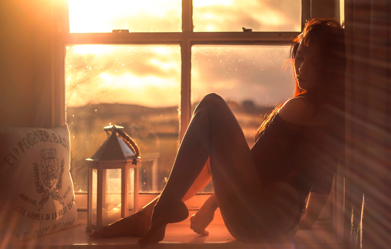 Фото девушек на солнце