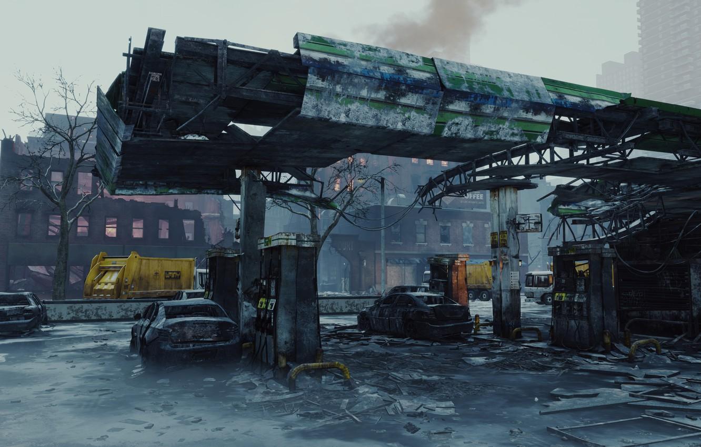 Обои здания, ubisoft entertainment, Tom clancys the division. Игры foto 14