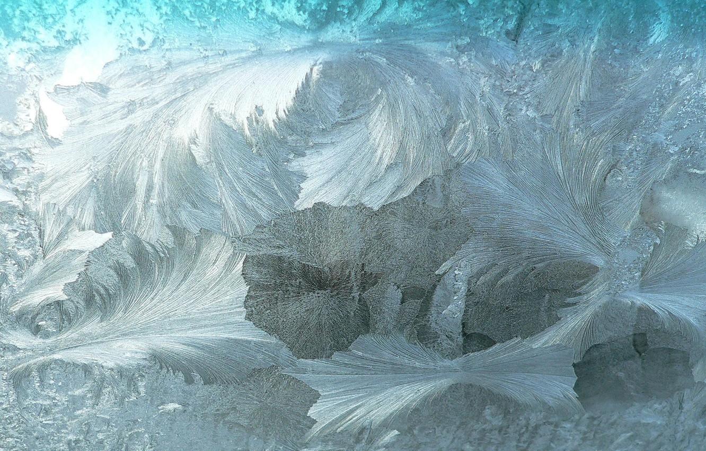 Фото обои холод, зима, стекло, узоры, текстура, мороз