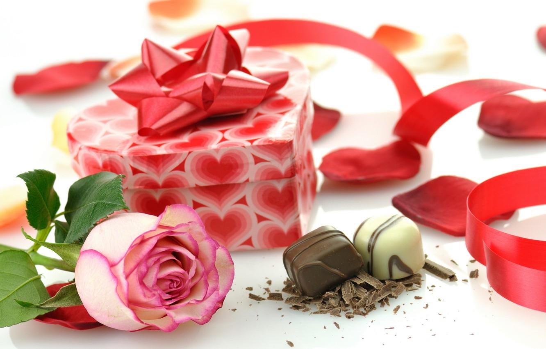 Конфеты с розами картинки