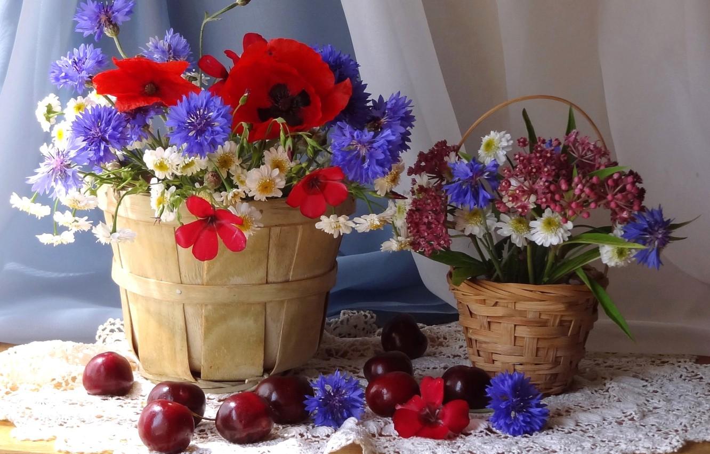 Обои цветы, натюрморт. Разное foto 7